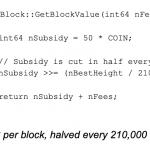 Bitcoin Halving kodunda ki bug!
