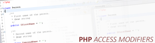 PHP Access Modifiers [ Erişim Niteleyicileri ]