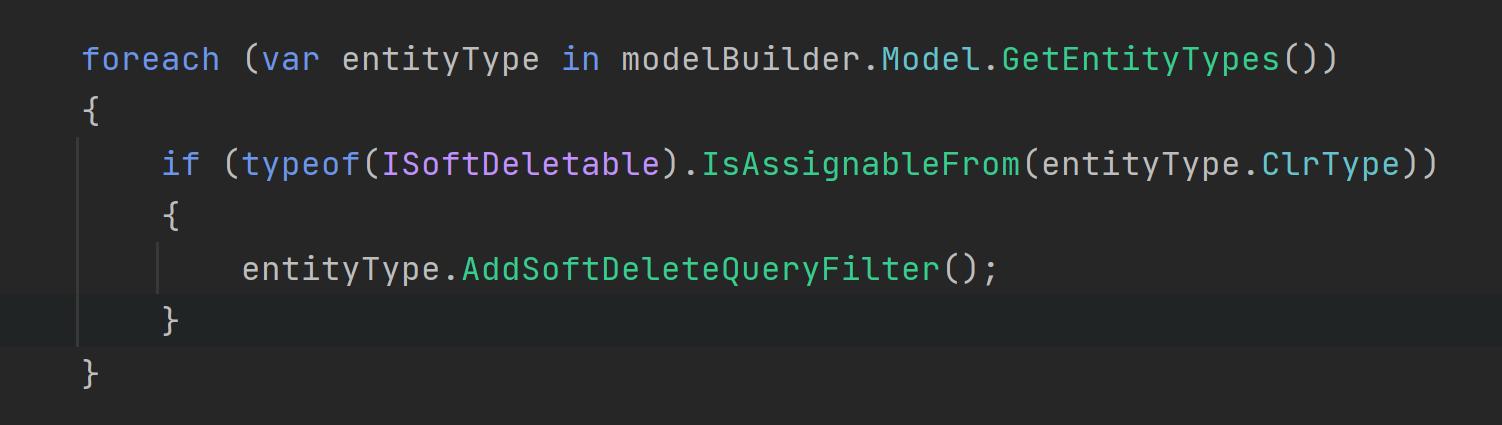 Entity Framework Core - Soft Delete